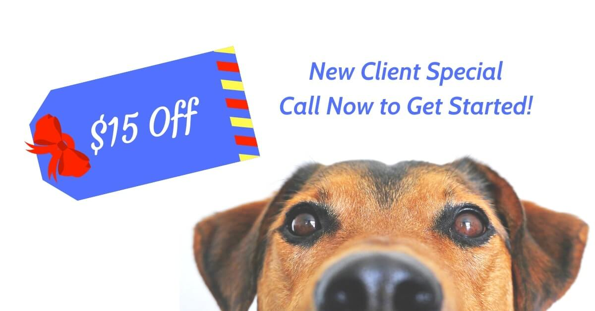 New Client Special $15 Off